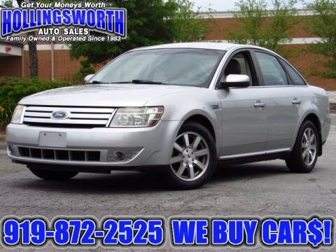 2009 Ford Taurus for sale at Hollingsworth Auto Sales in Raleigh NC