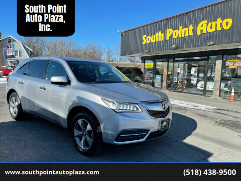 2014 Acura MDX for sale at South Point Auto Plaza, Inc. in Albany NY