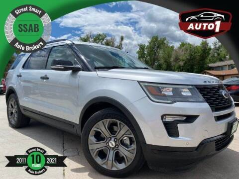 2018 Ford Explorer for sale at Street Smart Auto Brokers in Colorado Springs CO