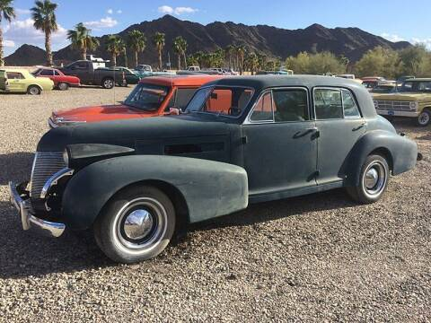 1939 Cadillac Fleetwood for sale at Collector Car Channel - Desert Gardens Mobile Homes in Quartzsite AZ