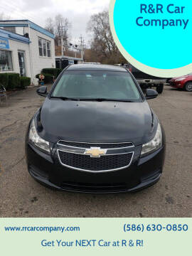 2012 Chevrolet Cruze for sale at R&R Car Company in Mount Clemens MI
