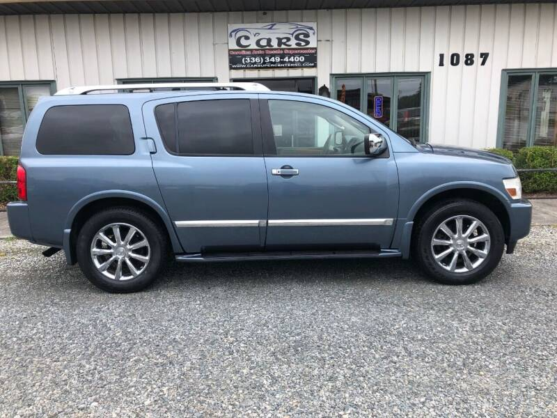 2008 Infiniti QX56 for sale at Carolina Auto Resale Supercenter in Reidsville NC