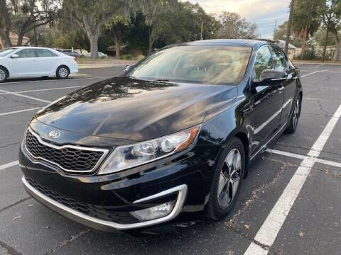 2013 Kia Optima Hybrid for sale at Florida Prestige Collection in St Petersburg FL