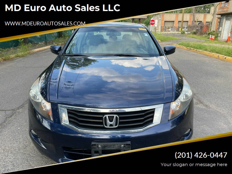 2008 Honda Accord for sale at MD Euro Auto Sales LLC in Hasbrouck Heights NJ