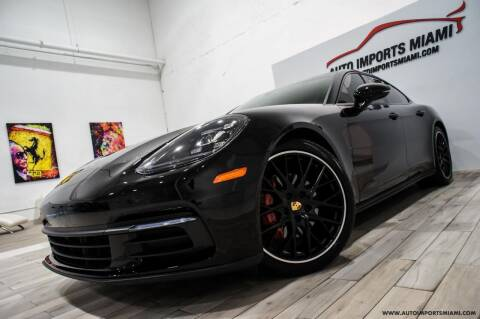 2018 Porsche Panamera for sale at AUTO IMPORTS MIAMI in Fort Lauderdale FL