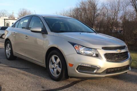 2015 Chevrolet Cruze for sale at S & L Auto Sales in Grand Rapids MI