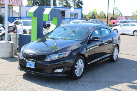 2015 Kia Optima for sale at BAYSIDE AUTO SALES in Everett WA