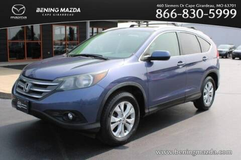 2013 Honda CR-V for sale at Bening Mazda in Cape Girardeau MO