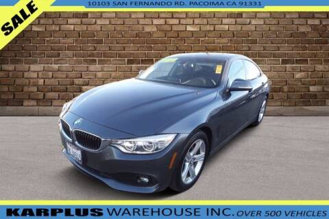 2015 BMW 4 Series for sale at Karplus Warehouse in Pacoima CA