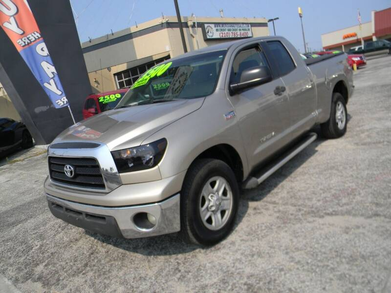2008 Toyota Tundra for sale at Meridian Auto Sales in San Antonio TX