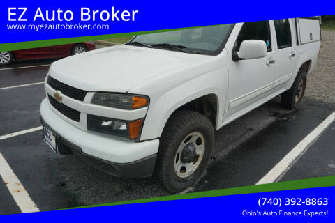 2012 Chevrolet Colorado for sale at EZ Auto Broker in Mount Vernon OH