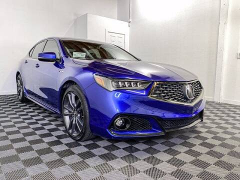 2018 Acura TLX for sale at Sunset Auto Wholesale in Tacoma WA