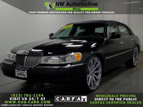 2000 Lincoln Town Car for sale at NW Automotive Group in Cincinnati OH
