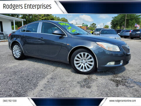 2011 Buick Regal for sale at Rodgers Enterprises in North Charleston SC