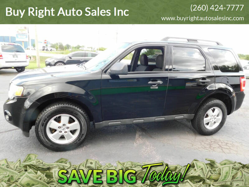 2010 Ford Escape for sale at Buy Right Auto Sales Inc in Fort Wayne IN