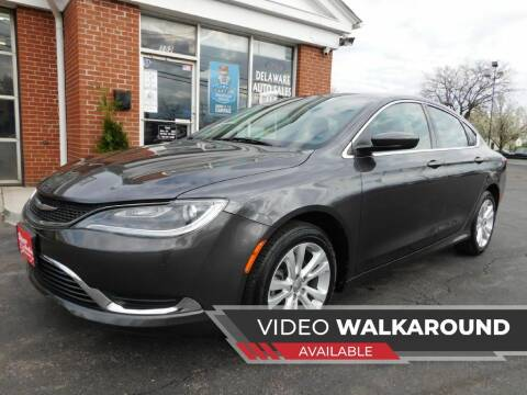 2015 Chrysler 200 for sale at Delaware Auto Sales in Delaware OH