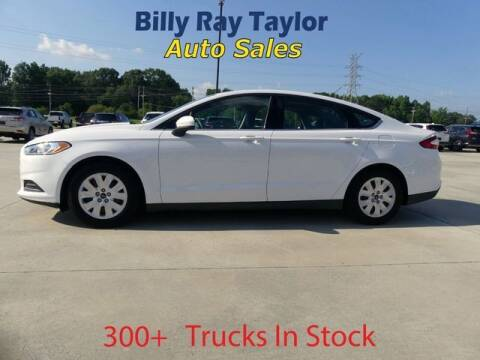 2013 Ford Fusion for sale at Billy Ray Taylor Auto Sales in Cullman AL