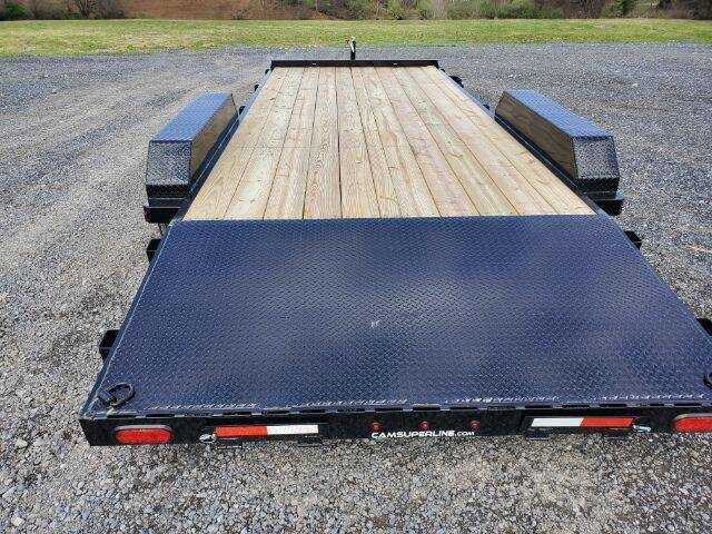 2021 CAM SUPERLINE 20FT WOOD DECK CH for sale at STAUNTON TRACTOR INC - trailers in Staunton VA