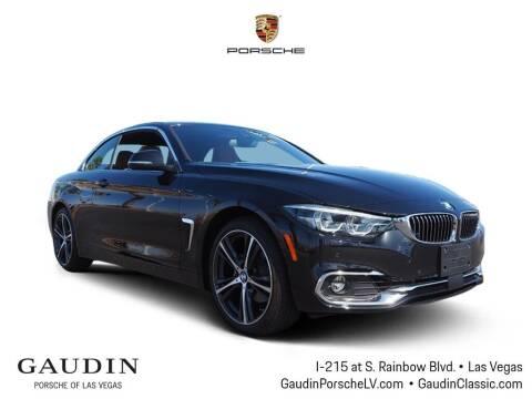 2020 BMW 4 Series for sale at Gaudin Porsche in Las Vegas NV