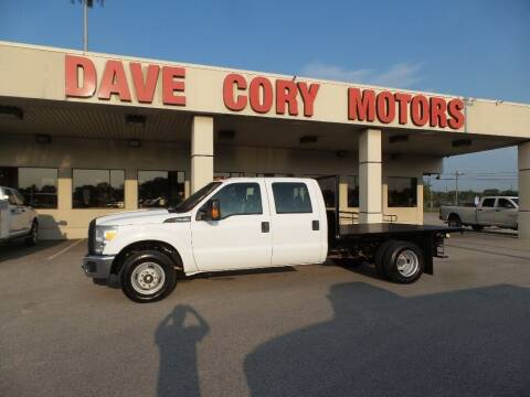2016 Ford F-350 Super Duty for sale at DAVE CORY MOTORS in Houston TX