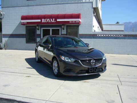 2016 Mazda MAZDA6 for sale at Royal Auto Inc in Murray UT