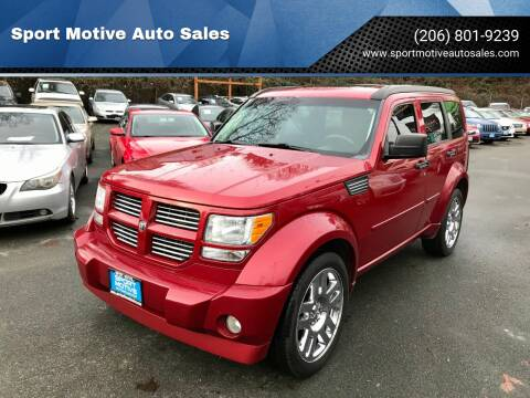 2007 Dodge Nitro for sale at Sport Motive Auto Sales in Seattle WA