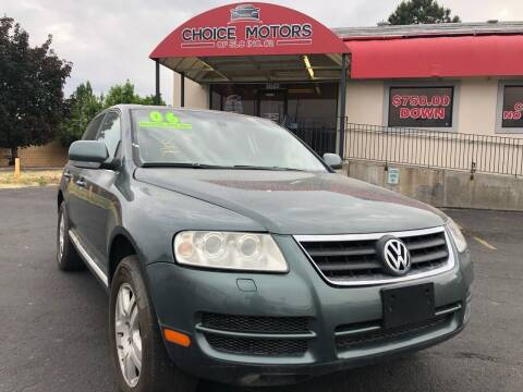 2006 Volkswagen Touareg for sale at Choice Motors of Salt Lake City in West Valley  City UT