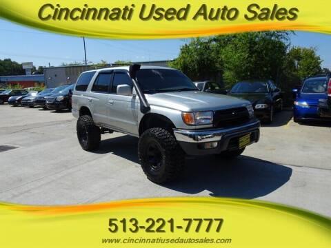 2001 Toyota 4Runner for sale at Cincinnati Used Auto Sales in Cincinnati OH