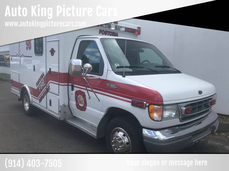 2001 Ford E-Series Chassis for sale at Auto King Picture Cars in Pound Ridge NY
