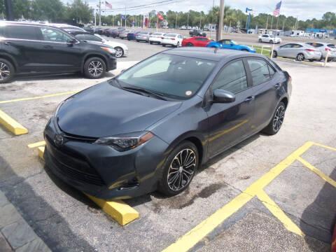 2018 Toyota Corolla for sale at ORANGE PARK AUTO in Jacksonville FL