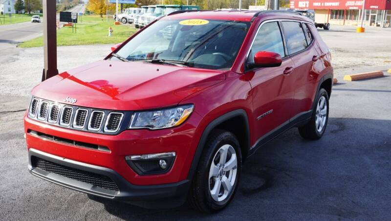 2018 Jeep Compass for sale at Ricks Auto Sales, Inc. in Kenton OH