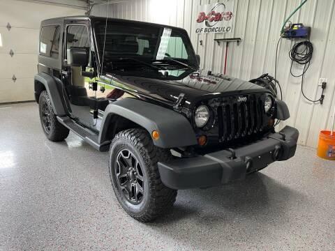 2013 Jeep Wrangler for sale at D-Cars LLC in Zeeland MI