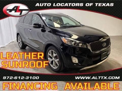 2016 Kia Sorento for sale at AUTO LOCATORS OF TEXAS in Plano TX