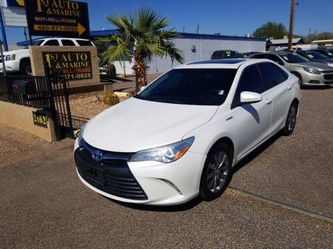 2016 Toyota Camry Hybrid for sale at 1ST AUTO & MARINE in Apache Junction AZ