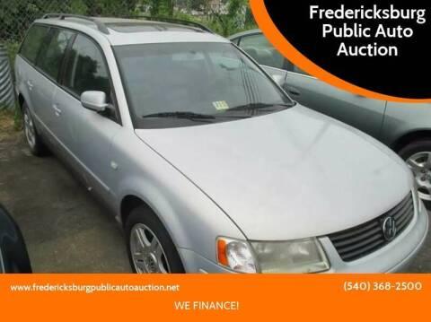 2000 Volkswagen Passat for sale at FPAA in Fredericksburg VA