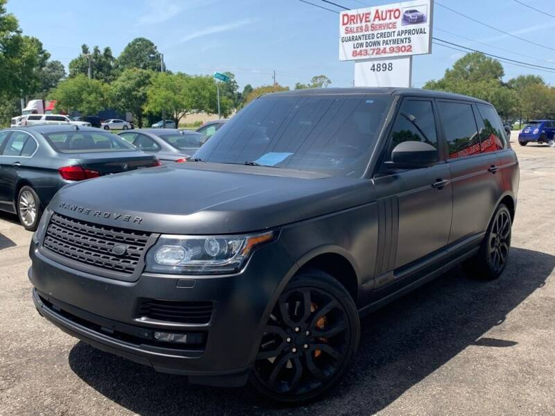 2014 Land Rover Range Rover for sale at Drive Auto Sales & Service, LLC. in North Charleston SC