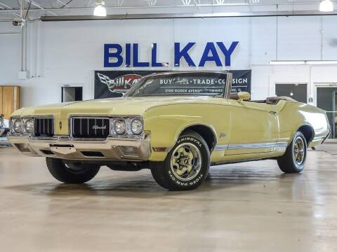 1970 Oldsmobile Cutlass for sale at Bill Kay Corvette's and Classic's in Downers Grove IL