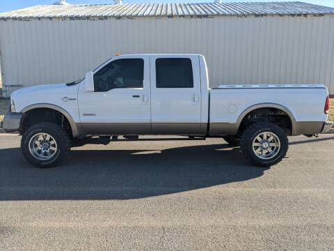 2005 Ford F-250 Super Duty for sale at TNK Autos in Inman KS