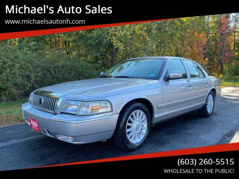 2008 Mercury Grand Marquis for sale at Michael's Auto Sales in Derry NH
