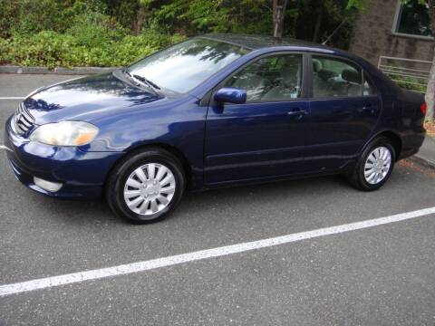 2007 Toyota Corolla for sale at Western Auto Brokers in Lynnwood WA