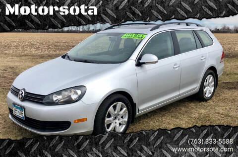2011 Volkswagen Jetta for sale at Motorsota in Becker MN