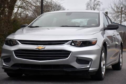 2016 Chevrolet Malibu for sale at Wheel Deal Auto Sales LLC in Norfolk VA