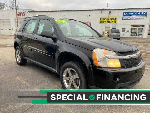 2007 Chevrolet Equinox for sale at LA Auto & RV Sales and Service in Lapeer MI