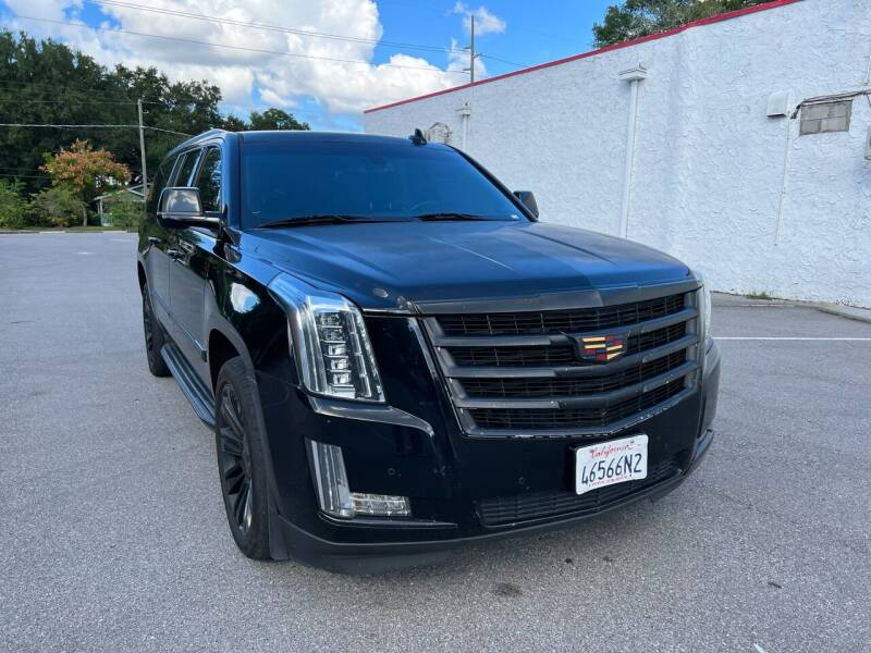 2015 Cadillac Escalade ESV for sale at LUXURY AUTO MALL in Tampa FL
