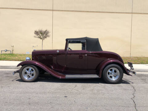 1932 Ford Cabriolet  for sale at HIGH-LINE MOTOR SPORTS in Brea CA