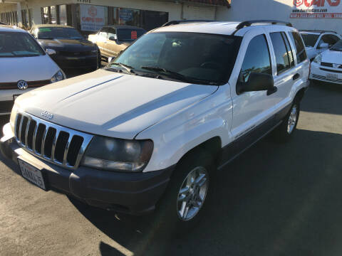 2003 Jeep Grand Cherokee for sale at CARSTER in Huntington Beach CA
