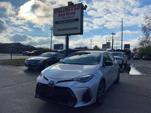 2017 Toyota Corolla for sale at Unlimited Auto Group in West Chester OH