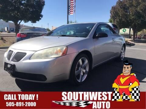 2007 Pontiac G6 for sale at SOUTHWEST AUTO in Albuquerque NM