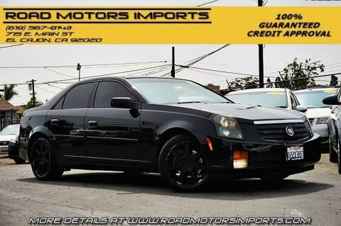 2005 Cadillac CTS for sale at Road Motors Imports in El Cajon CA