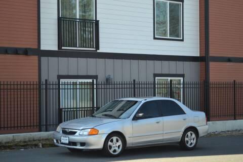 2000 Mazda Protege for sale at Skyline Motors Auto Sales in Tacoma WA